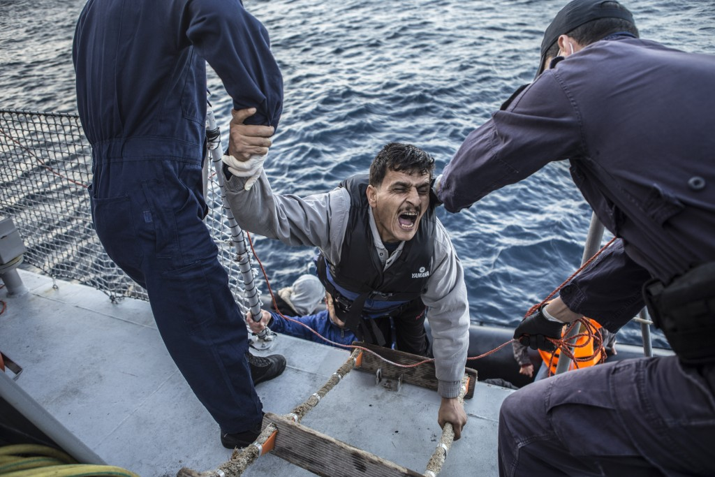 Saving Lives in The Aegean